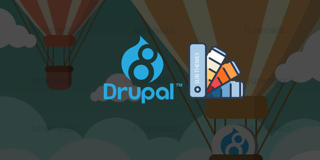Steps to create sub-theme in drupal 8